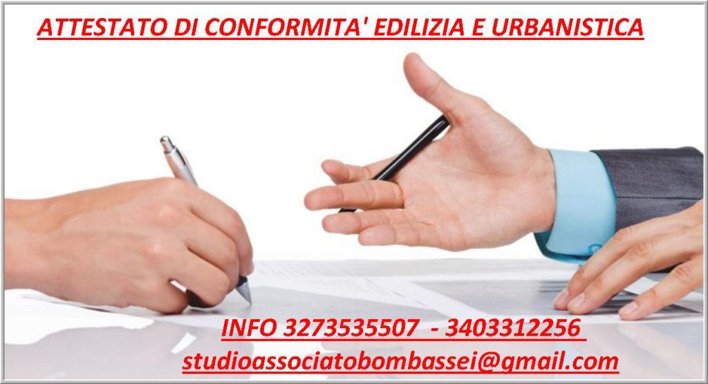 attestato di conformità edilizia e urbanistica catastale Belluno Auronzo Cadore Comelico